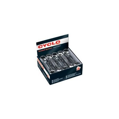 Cyclo Dumbell Spanner Metric, Box of 10