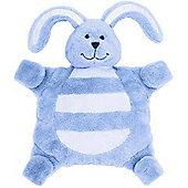Sleepytot Bunny Baby Comforter (Small, Blue)