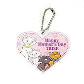 Disney Aristocats Personalised Mother's Day Keyring