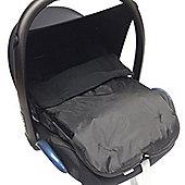 Car Seat Footmuff To Fit Maxi Cosi Pebble Cabrio Black