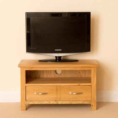 Newlyn Small TV Stand - Light Oak