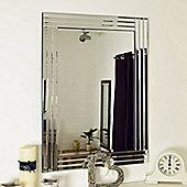 Large Venetian Bevelled Wall Mirror 3Ft3x2ft3 100Cm X 70Cm