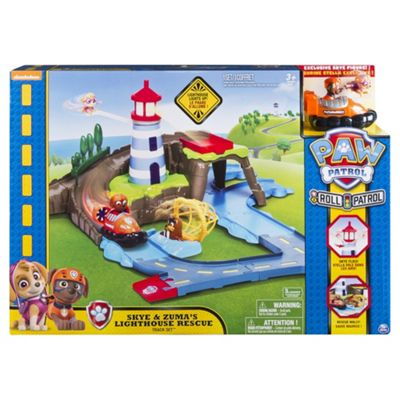Paw Patrol Skye And Zumas Lighthouse Rescue Track Set