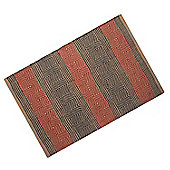 Homescapes Multicolour Geometric Patterned Jute Rug, 60 x 100 cm