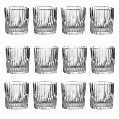 Duralex Manhattan Water / Whisky Tumbler Glasses - 310ml - x12