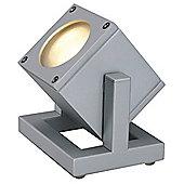 Cubix Floor Lamp Silvergrey Energy Saver Max. 25W