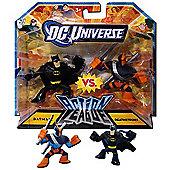 DC Universe Action League - Batman vs. Deathstroke Figures
