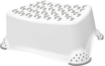 Babycurls Step Stool – White