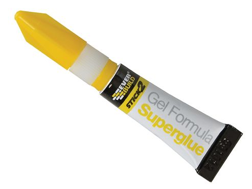 Everbuild Stick 2 Superglue Gel 3g