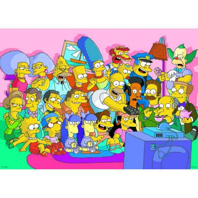 The Simpons - 500pc Puzzle