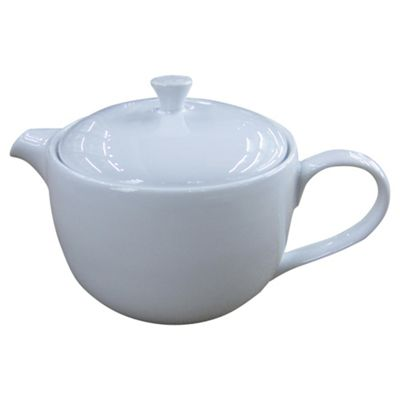 Super White Porcelain Teapot