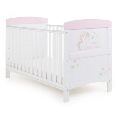 4eba5b086 Buy OBaby Grace Inspire Cot Bed (Unicorn) from our Cot Beds range ...