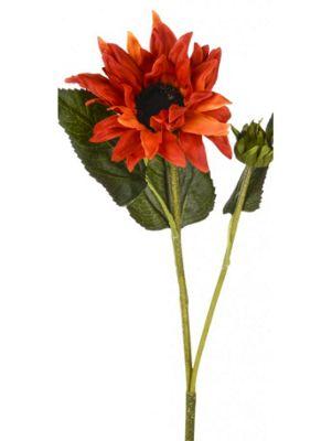 Artificial - Harvest Sunflower - Orange