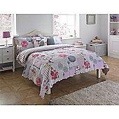Riva Home Eden Pink Bedspread - 240x260cm
