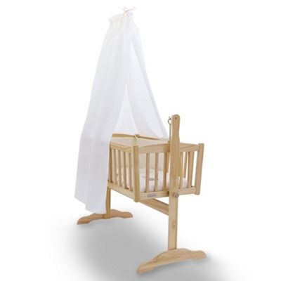 Clair de Lune Cot & Crib Freestanding Drape Set (Cream)