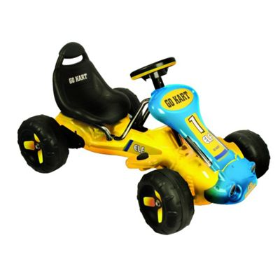 Electric Ride-On Go Kart Toy Battery Operated 3-5 Years