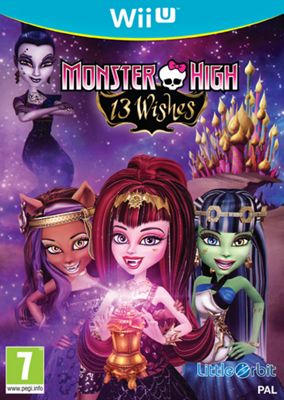 Monster High 13 Wishes (Nintendo Wiiu)