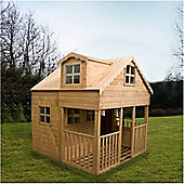 7 x 7 Sutton Playhouse Double Storey (7ft x 7ft) - Fast Delivery - Pick A Day