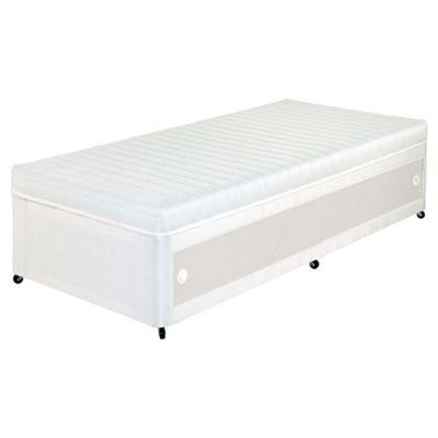 Airsprung Single Divan Bed, Kids Anti Allergy and No Turn, Slidestore