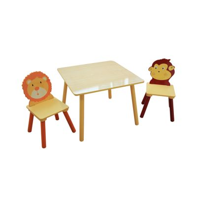 Liberty House Jungle Square Table U0026 2 Chairs Set