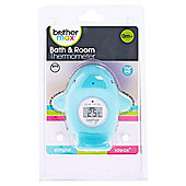 Brother Max Whale Baby Bath & Room Thermometer (Finn)