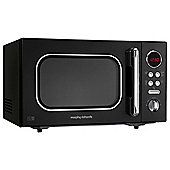 Morphy Richards 511500 Accents 20L Solo Microwave, Black