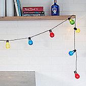 20 Multi Coloured LED Festoon Party Lights