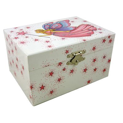 Girls Jewellery Boxes - Fairy Princess