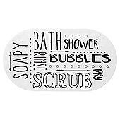 Word Bath Mat