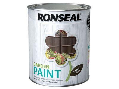 Ronseal Garden Paint English Oak 750ml