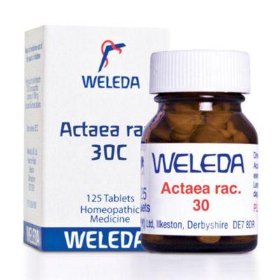 Weleda Actaea rac 30C 125 Tablets