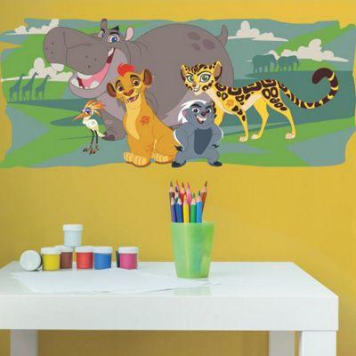 Children's Lion Guard & Friends Wall Sticker