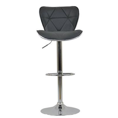 Cobain Bar Stool Dark Grey