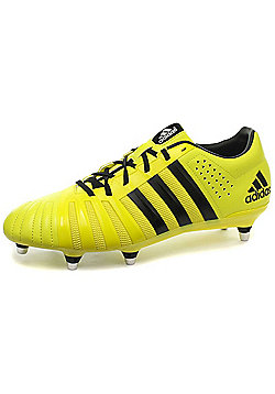 adidas FF80 Pro 2.0 XTRX SG miCoach Compatible 7 Stud Rugby Boots - Yellow