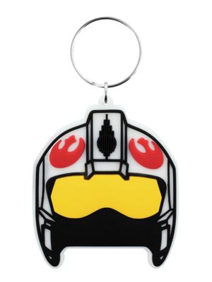 Star Wars Rogue One Rebel Helmet Keyring 4.5x6cm