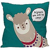 Puckator Alpaca Sleep Cushion