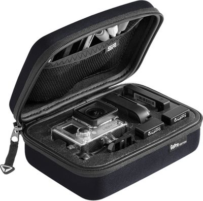 SP Storage Case Small for GoPro Cameras & Accessories Black