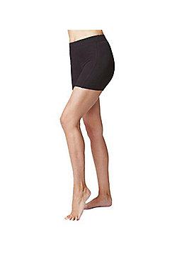Women's Mini Gym Short Lengths Black - Black