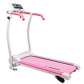 Confidence Power Trac Pro 735W Motorised Electric Treadmill With Incline Pink