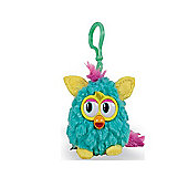Furby Wild Colours 8cm Keychain With Sound Light Blue