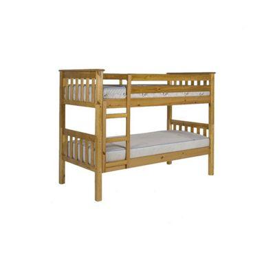 Verona Barcelona Bunk Bed Frame - Single - Antique