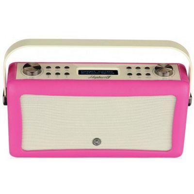 ViewQuest Hepburn MKII DAB/DAB+/FM Radio with Bluetooth (Hot Pink)