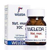 Weleda Nat Mur 30 Homeopathic Medicine 125 Tablets