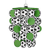 Football Ceiling Pendant Light Shade, Green