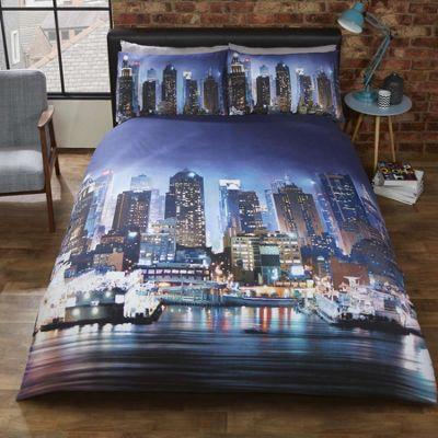 New York Skyline Double Duvet
