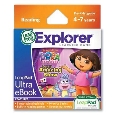 LeapFrog LeapPad Ultra e-Book : Dora's amazing show
