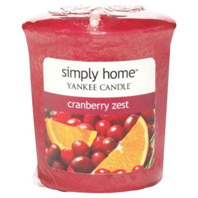 Yankee Candle Votive Cranberry Zest