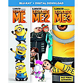 Despicable Me 1-3 Boxset Bd 3Disc