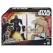 Star Wars Hero Mashers Sith Speeder and Darth Maul - Action Figures
