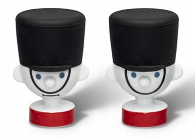 PO: Guard Egg Cups with Silicone Helmets - Set of 2